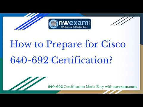 Latest | Cisco CCT Routing & Switching (640-692) Certification ...
