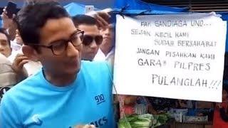 Sandiaga Uno Dianggap Bersandiwara dalam Video Penolakan, Kubu Jokowi Beberkan Bukti Dugaan Rekayasa