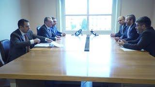 ԱԳ նախարար Զոհրաբ Մնացականյանի հանդիպումը Իրանի դատական համակարգի ղեկավարի՝ միջազգային հարցերով տեղակալ, Իրանի մարդու իրավունքների գերագույն խորհրդի քարտուղար Ալի Բաղերիի հետ