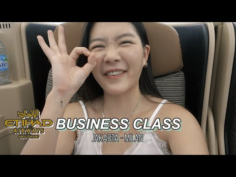 Pengalaman Aneh naik  Business Class Etihad Airways