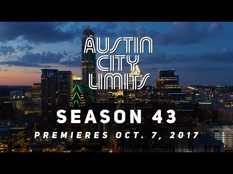 Austin City Limits Season 43 premieres October 7th on PBS