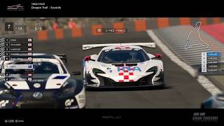 Gran Turismo™SPORT - Dragon Trail Seaside McLaren 650S Gr3 (online race)
