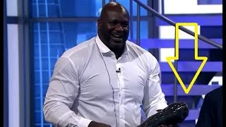 Shaquille O'Neal threw fish in Charles Barkley. Shaq brings catfish to TNT postgame show. Matrix