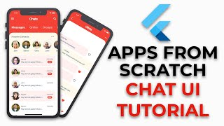 Flutter Chat UI Tutorial | Apps From Scratch