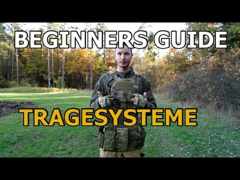 Airsoft Beginners Guide - Verschiedene Tragesysteme GSPAirsoft german / deutsch