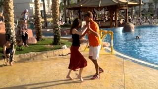 preview picture of video 'Tropicana Azure Club Salsa lesson'