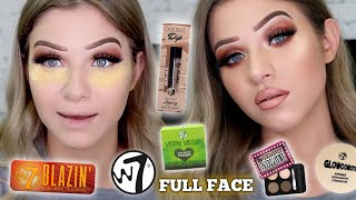 Testing Full Face Of W7 Makeup! Does It Work?