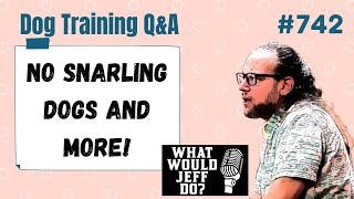Dog Training Q&A - No Snarling Dogs - What Would Jeff Do? Ep.742 (2020)