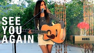 See You Again - Wiz Khalifa ft. Charlie Puth (HelenaMaria Acoustic Cover) Furious 7 Music Video