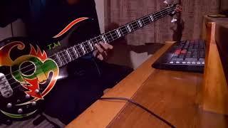 ANOUK - The Dark - Bass Cover / Play Along by Rahemsa