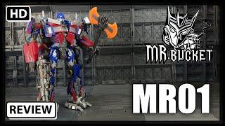 Mr. Bucket Mr-01 Transformers Mpm-04 Optimus Prime Weapon Upgrade Kit