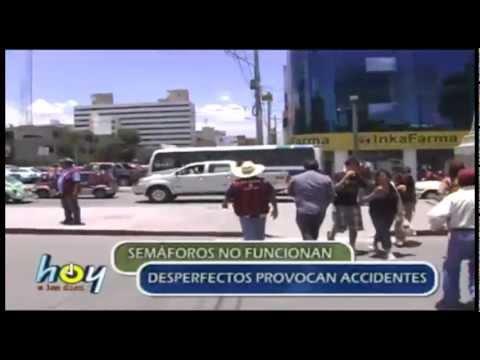 HOY A LAS 10 SEMAFOROS MALOGRADOS