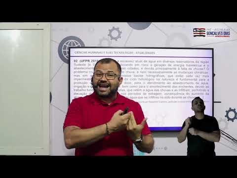Aula 02 | Crise hídrica mundial e Brasileira - Parte 03 de 03 - Exercícios Resolvidos - ATUALIDADES