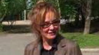 Campagne de Jessica Lange contre le VIH en Russie