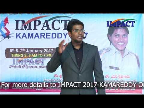 6 Success Rules  KVN Karthik TELUGU IMPACT Kamareddy 2017