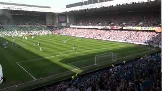 Rangers 3 Celtic 2...Amazing Penny Arcade & Blue Sea Of Ibrox     High Quality