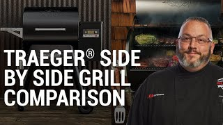Traeger Side By Side Grill Comparison - Ace Hardware