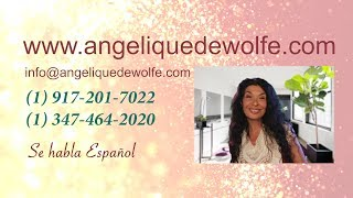 Angelique explains a few of her services offered.  Tarot Card Readings, Psychic Readings, Cord Cutti