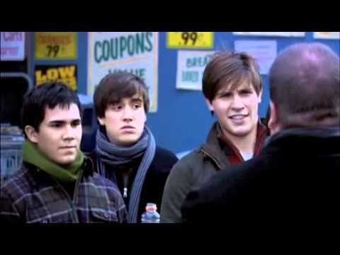 Big Time Rush - Unaired Pilot (Parking lot)