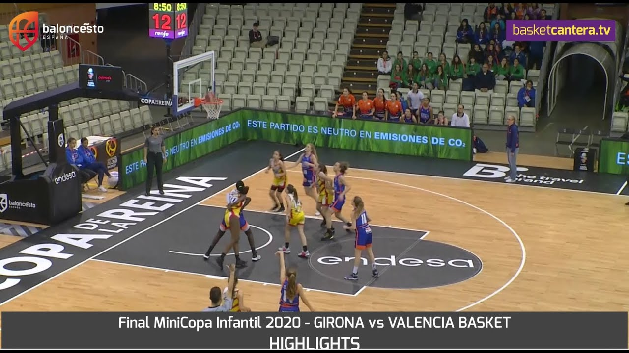 HIGHLIGHTS: Canastas de la Final MiniCopa Infantil Femenina