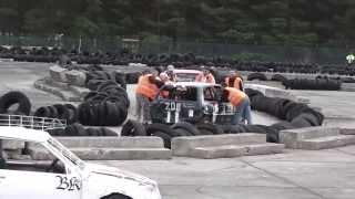 Crashcar-Weekend in Preschen April 2013 1U
