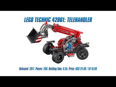 Vidéo LEGO Technic 42061 : Le manipulateur télescopique