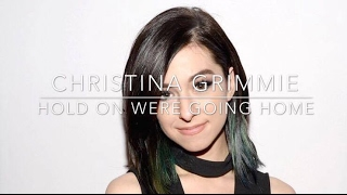 Christina Grimmie - Hold On Were Going Home // Karaoke - Instrumental // Lyrics In Description
