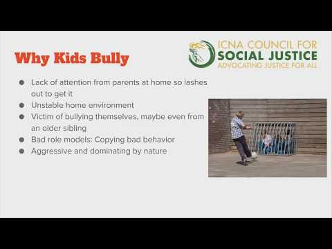 Anti-Bullying Workshop: Training for Students and Parents | ICNA ...