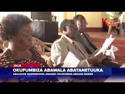 Okufumbiza abawala abatanetuuka  Abazadde bawereddwa amagezi okusomesa abaana babwe
