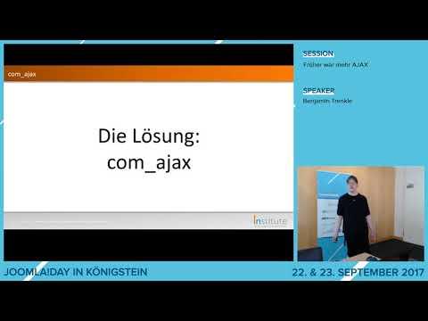 JD17DE - Früher war mehr AJAX