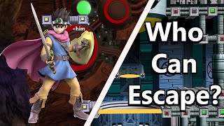 SSBU: Who Can Escape Brinstar Without Jumping?