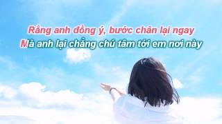 [KARAOKE LỜI VIỆT] Anh Nơi Xa Xôi | 遥远的你 - Hoa Đồng | 花僮