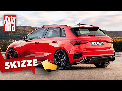 Audi RS 3 (2021): Skizze - Neuvorstellung - Kompakt - Motor - Infos