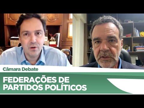 Deputados debatem federações de partidos políticos - 17/06/21