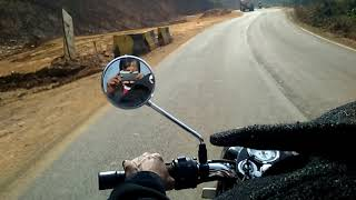 preview picture of video 'Mumbai Goa NH-66 Bullet ride'