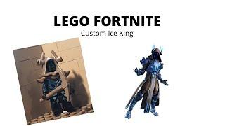 custom lego fortnite ice king - lego fortnite tryx