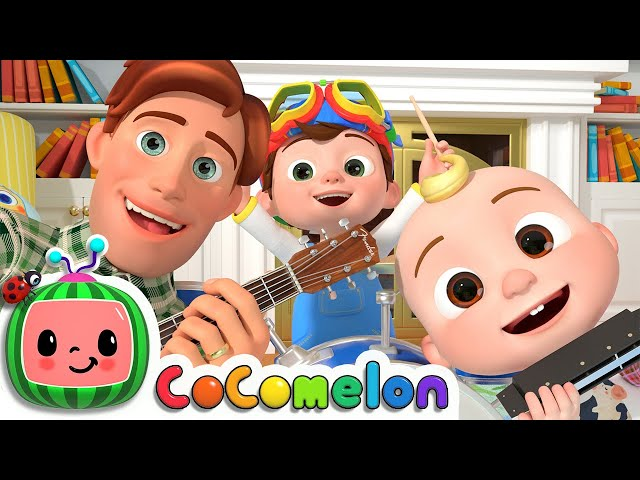 Father and Sons Song   CoCoMelon Nursery Rhymes & Kids Songs
