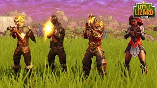 BLACK KNIGHTS LAST EVER GAME OF FORTNITE!! Fortnite Short Film