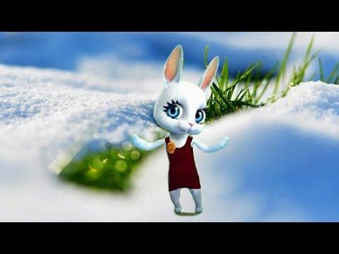 Zoobe Зайка Тает, тает белый снег  :-)