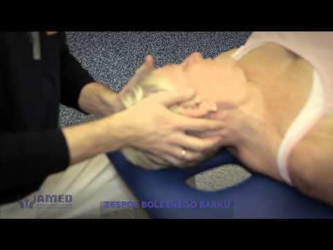 Ból barku w ćwiczeniach Osteochondroza