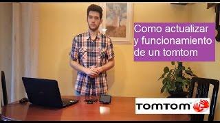 Como Actualizar Un Tomtom Y Funcionamiento | Tutorial