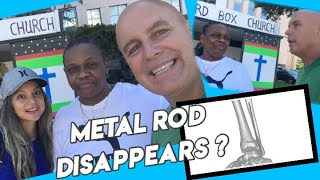Metal Rod Disappears ?