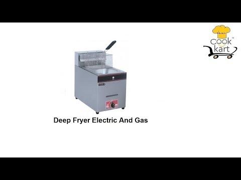 Electric Gas 14L Deep Fryer