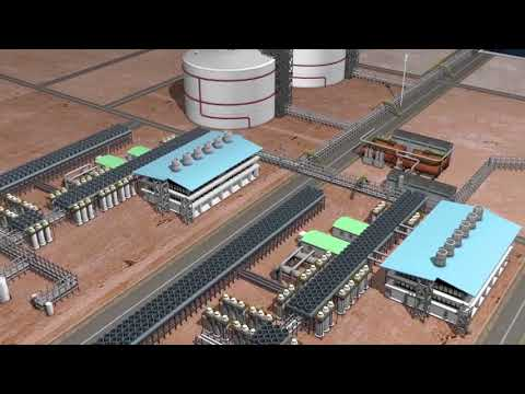 Exploration of natural gas off the coast of Southern Tanzania