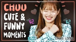 LOONA Chuu Cute and Funny Moments