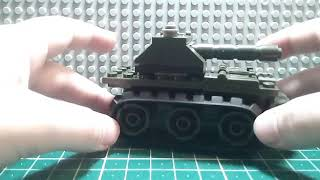 Военая техника, как сделать из лего танк.