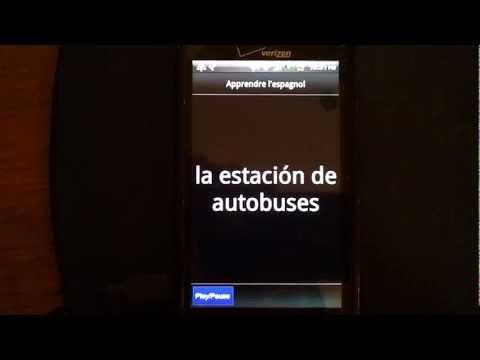 Video of Apprendre l'Espagnol - Gratuit
