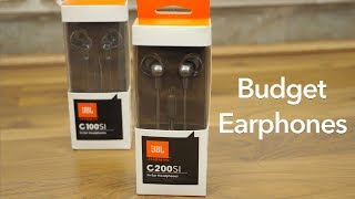 JBL C200SI Budget Earphones Review & Compared with JBL C100