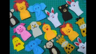 Little Zooo   How To Make Finger Puppets   Super Easy
