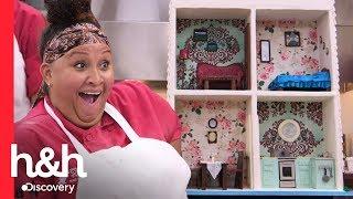 ¡La casa de muñecas más dulce que hayas visto! | Cake Boss | Discovery H&H